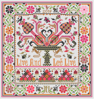 LD114 Live & Let Live Long Dog Samplers
