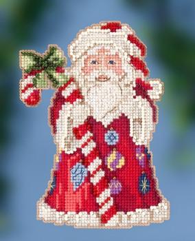 JS202016 Candy Cane Santa by Jim Shore (2020)