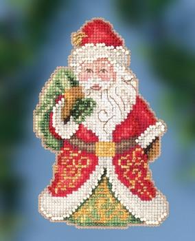 JS202015 Gift Bearing Santa by Jim Shore (2020)