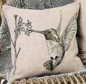 838419 Permin Kit Hummingbird - Cushion