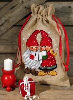 908287 Permin Kit Santa Claus Bag