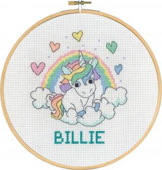 920744 Permin Kit Rainbow Unicorn