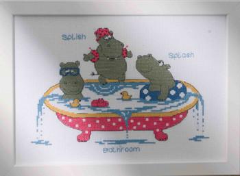 921189 Permin Kit Hippo Splish Splash