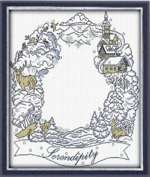 AAN581 Winter Serendipity 275 x 289  Alessandra Adelaide Needleworks