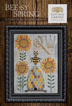Time For All Seasons 5 - Beesy Spring 100w x 130h by Cottage Garden Samplings 21-1689