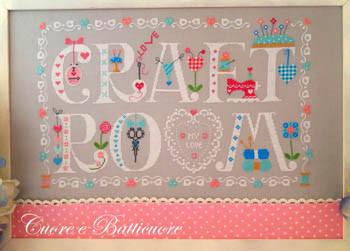 Craft Room My Love 287w x 182h by Cuore E Batticuore 21-1679