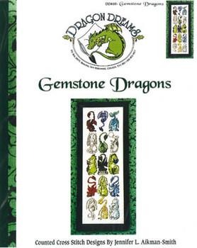 Gemstone Dragons by Dragon Dreams Inc. 03-1248