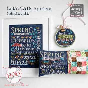 Let's Talk Spring by Hands On Design 21-1597