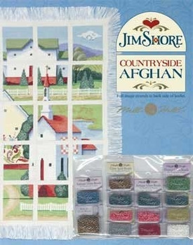 Countryside Afghan With Embellishment Pack Does NOT include fabric. Jim Shore