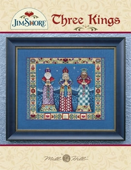 Three Kings With Embellishment Pack  Does NOT include fabric Jim Shore