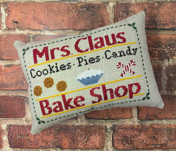 Mrs. Claus Bake Shop 74h x 108w by Needle Bling Designs 21-1569