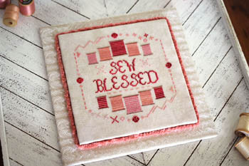 Sew Blessed 102w x 109h  by October House Fiber Arts 21-1456