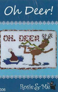 Oh Deer! 116w x 77h by Rosie & Me Creations 21-1442