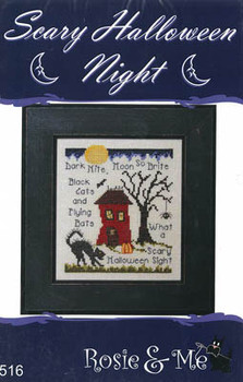 Scary Halloween Night 68w x 80h by Rosie & Me Creations 21-1445