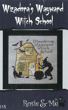 Wizadora's Wayward Witch School  97w x 98h by Rosie & Me Creations 21-1444
