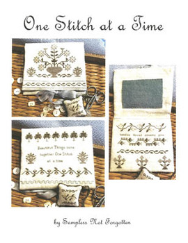 One Stitch At A Time by Samplers Not Forgotten 21-1688