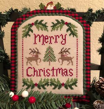 Merry Christmas Deer by ScissorTail Designs   21-1352
