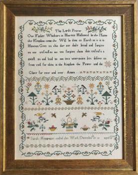 Sarah Macgregor's Sampler by Shakespeare's Peddler 21-1326