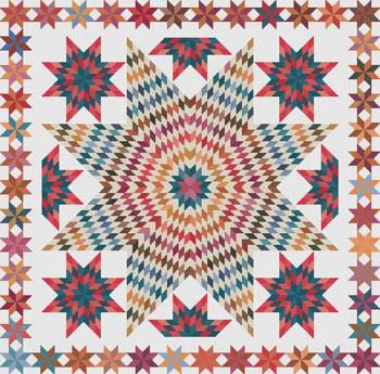 Cross Stitch Quilt #3 Stitch Count: 264x260 by Susanamm Cross Stitch 20-2212
