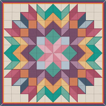 Cross Stitch Quilt #6 by Susanamm Cross Stitchn20-2214