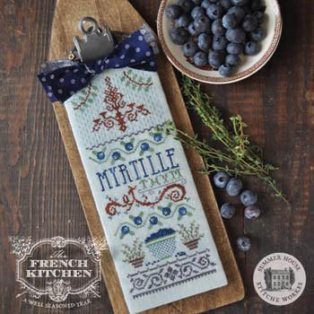 Myrtille Et Thym (Blueberry &Thyme) 53w x 135h by Summer House Stitche Workes 21-1607