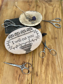 I Will Cut You Scissor Book Pattern by Stacy Nash Primitives 21-1397