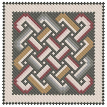 Antioch Mosaic Knotwork by Works By ABCb18-2674