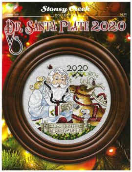 Dr. Santa Plate 2020 102w x 103h byPlate Not Included  Stoney Creek Collection 20-2726