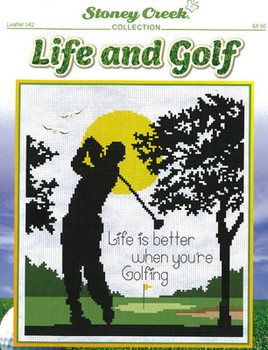 Life And Golf  112w x 125h by Stoney Creek Collection 21-1940