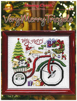 Very Merry Tricycle 144w x 130h by Stoney Creek Collection 20-2854