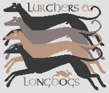 LD116 Lurchers & Longdogs  Long Dog Samplers