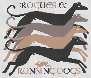 LD117 Rogues & Running Dogs  Long Dog Samplers