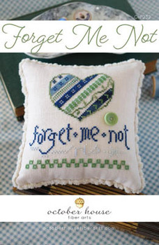 Forget Me Not by October House Fiber Arts 21-1839 YT