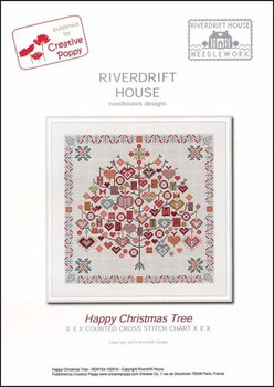 Happy Christmas Tree 167 x 167 Riverdrift House YT