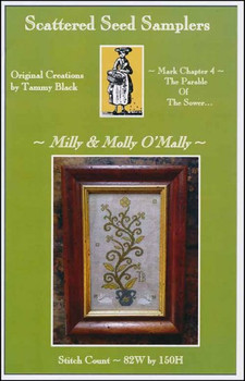 YT Milly & Molly O'Mally 82w x 150h Scattered Seed Samplers