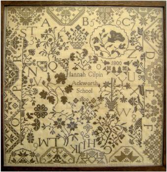 Hannah Gilpin 1800 StitchyBox Samplers