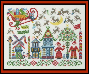 North Pole Welcome With Silk Pack Tempting Tangles TT-NPW