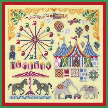 Sizzlin' Summertime Carnival With Silk Pack Tempting Tangles TT-SSC