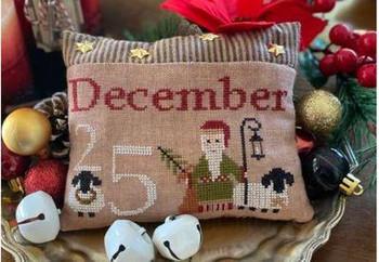 December 25th Pillow Mani Di Donna