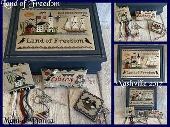Land Of Freedom Sewing by Mani Di Donna 17-2311 YT MDD-LOFSB