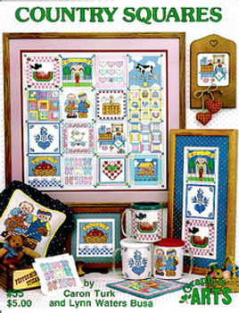6970 Country Squares by Graph-It Arts