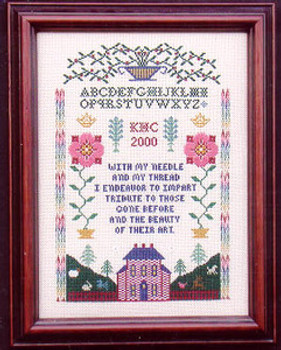 Tribute Sampler by Lilybet Designs 05-1884