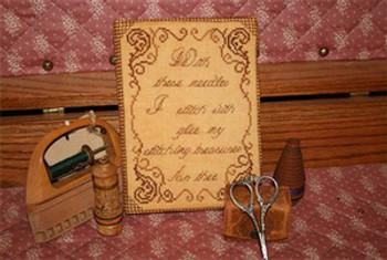 09-1946 Grandma's Needlebook (Kit) Stitching Treasures