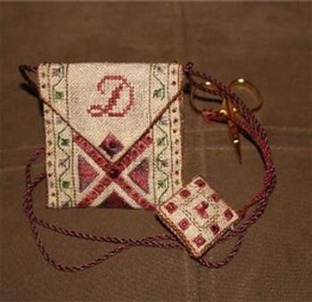09-1593 Scissor Pouch (w/scissors) Kit Stitching Treasures