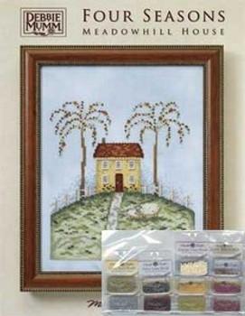 Debbie Mumm Meadowhill House  Embellishment Bead Pack