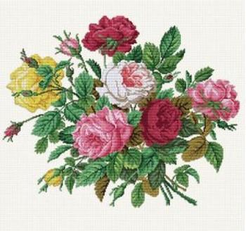 EMS143 Ellen Maurer-Stroh Roses In Their Splendour