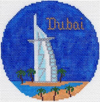 699 Dubai Ornament 4.25 RD. 18 Mesh Silver Needle Designs