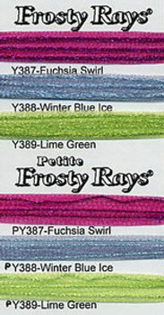 Rainbow Gallery Frosty Rays Y387 Fuchsia Swirl