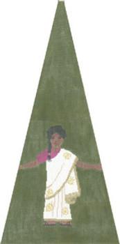 KS409H Indian Girl 11X23 13 Mesh Cooper Oaks Designs