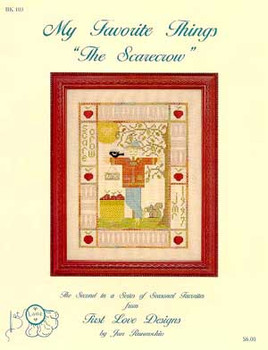 97-1988 My Favorite Things-Scarecrow by First Love Designs